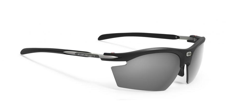 SP530906 משקפי שמש דגם רידון של רודי פרוג'קט צבע שחור מראה RYDON