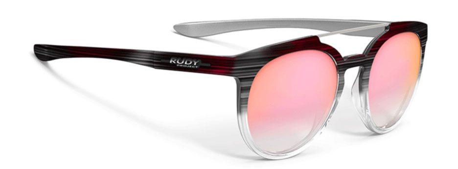 sp404734 משקפי שמש דגם ASTROLOOP של רודי פרוג'קט, צבע שחור-ורוד