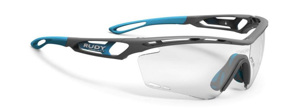 SP397375 משקפי שמש דגם TRALYX של רודי פרוג'קט, צבע אפור-כחול