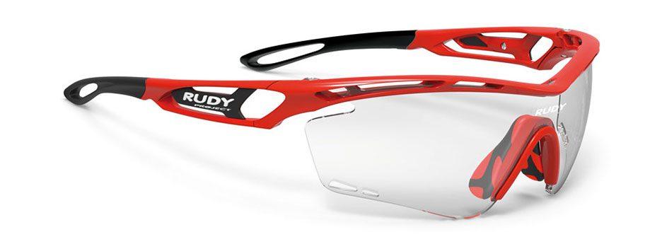 SP397345 משקפי שמש דגם TRALYX של רודי פרוג'קט, צבע אדום
