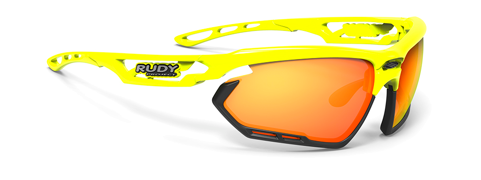 sp454076-0000 משקפי שמש דגם FOTONYK של רודי פרוג'קט, צבע צהוב