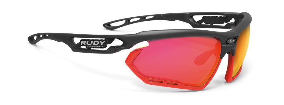SP453806-0001 משקפי שמש דגם FOTONYK של רודי פרוג'קט, צבע שחור-אדום