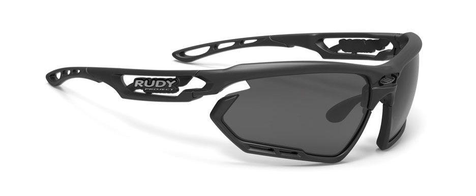 SP455906 משקפי שמש דגם FOTONYK של רודי פרוג'קט, צבע שחור פולורייזד