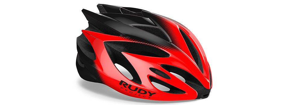 HL570150 קסדת RUSH של רודי פרוגקט צבע אדום-שחור