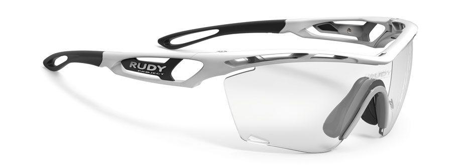 tralyx_SLIM_white משקפי שמש דגם TRALYX SLIM של רודי פרוג'קט, צבע לבן