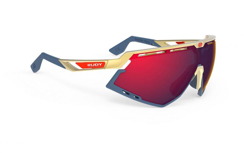 SP523805-0000 משקפי שמש DEFENDER של רודי פרוג'קט צבע זהב