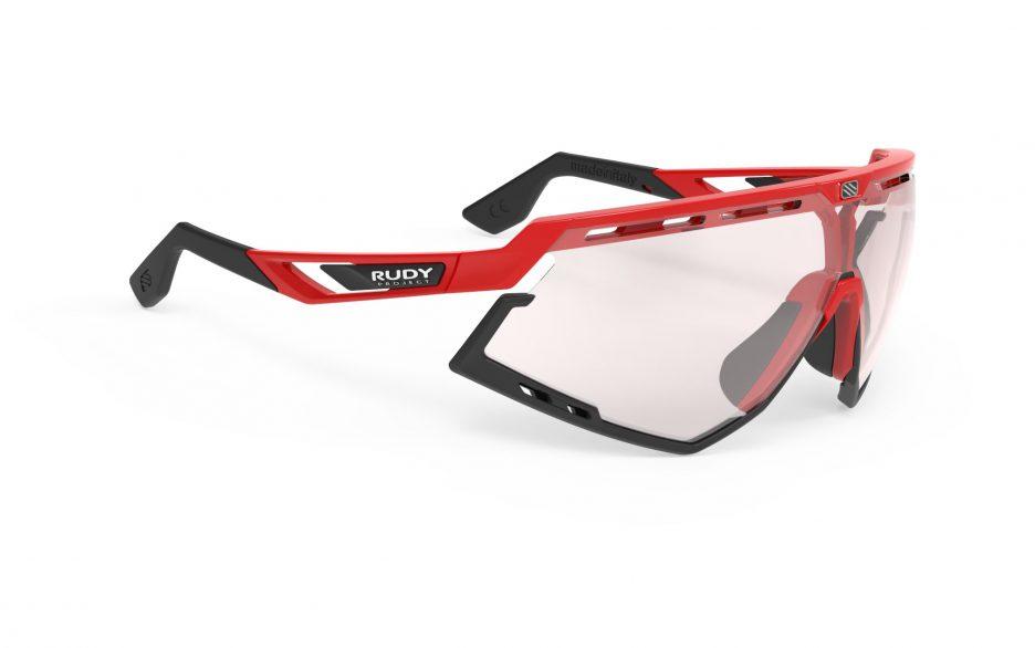 SP528945-0000 משקפי שמש דגם DEFENDER של רודי פרוג'קט, צבע אדום אאוטלט