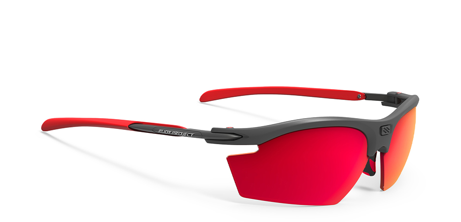 SP533898 משקפי שמש דגם רידון של רודי פרוג'קט צבע אפור-אדום RYDON