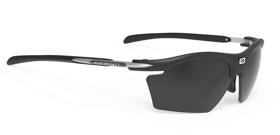SP541006 משקפי שמש דגם RYDON SLIM של רודי פרוג'קט, צבע שחור סמוק