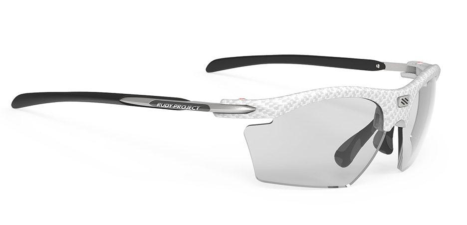 SP547321 משקפי שמש דגם RYDON SLIM של רודי פרוג'קט, צבע קרבוניום לבן