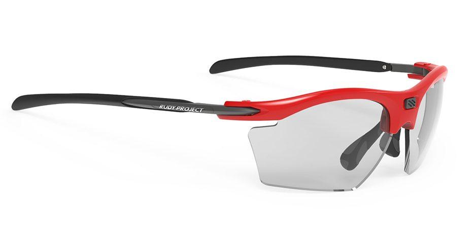 SP547345 משקפי שמש דגם RYDON SLIM של רודי פרוג'קט, צבע אדום