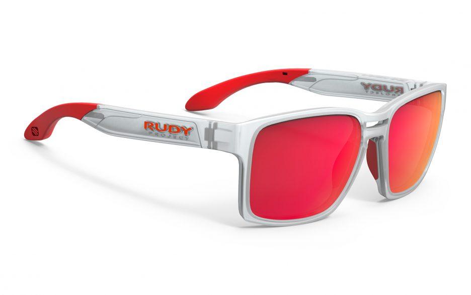 SP576291-0000 משקפי שמש דגם PINAIR 57 של רודי פרוג'קט, צבע לבן-אדום