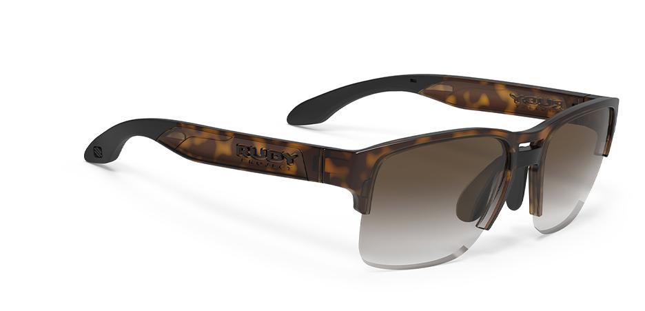 SP583650 משקפי שמש דגם PINAIR 58 של רודי פרוג'קט, צבע חום