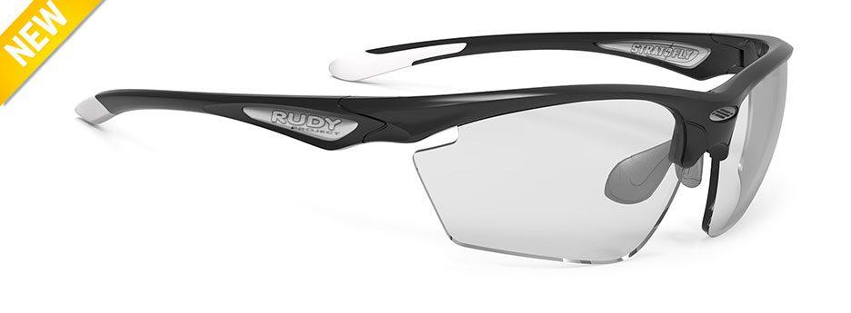 SP237342-0001 משקפי שמש SPINHAWK של רודי פרוג'קט צבע שחור עדשות מתכהות