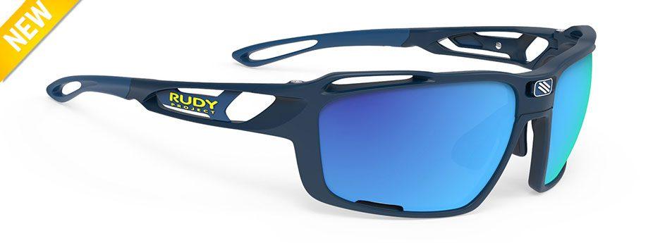 sp496547-0000 משקפי שמש דגם SINTRYX של רודי פרוג'קט, צבע כחול פולורייזד