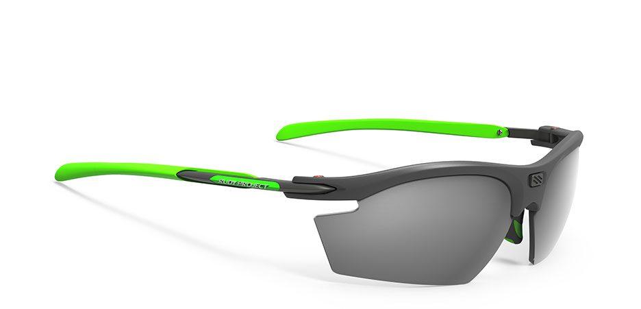 SP530998-0002 משקפי שמש דגם רידון של רודי פרוג'קט צבע גרפיט-ירוק RYDON
