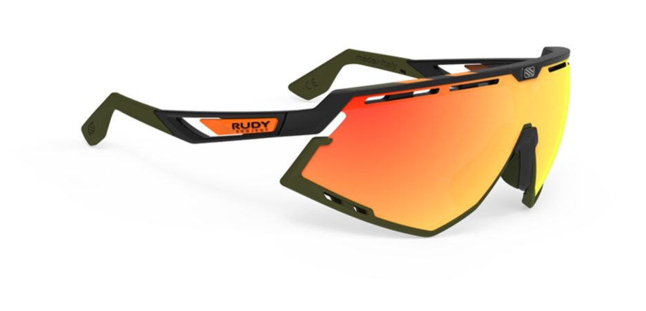 SP524006-20 משקפי שמש דגם DEFENDER של רודי פרוג'קט, צבע שחור כתום