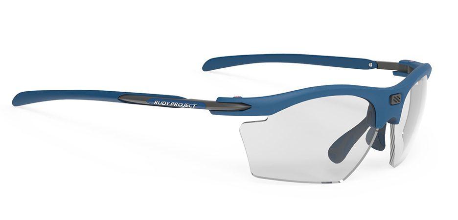 SP547349 משקפי שמש דגם RYDON SLIM של רודי פרוג'קט, צבעכחול עם עדשות מתכהות