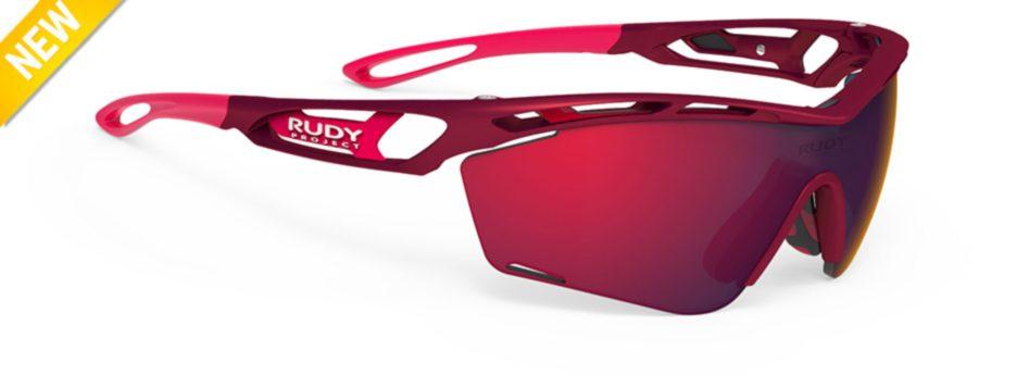 sp463812-0000 משקפי שמש דגם TRALYX SLIM של רודי פרוג'קט, צבע אדום מרלו
