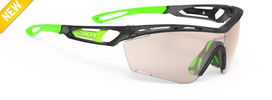 sp467720-0000 משקפי שמש דגם TRALYX SLIM של רודי פרוג'קט, צבע אפור-חום