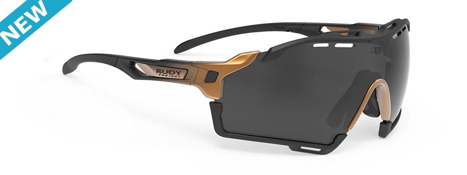SP631004-N010 משקפי שמש רודי פרוגקט דגם CUTLINE בצבע ברונזה